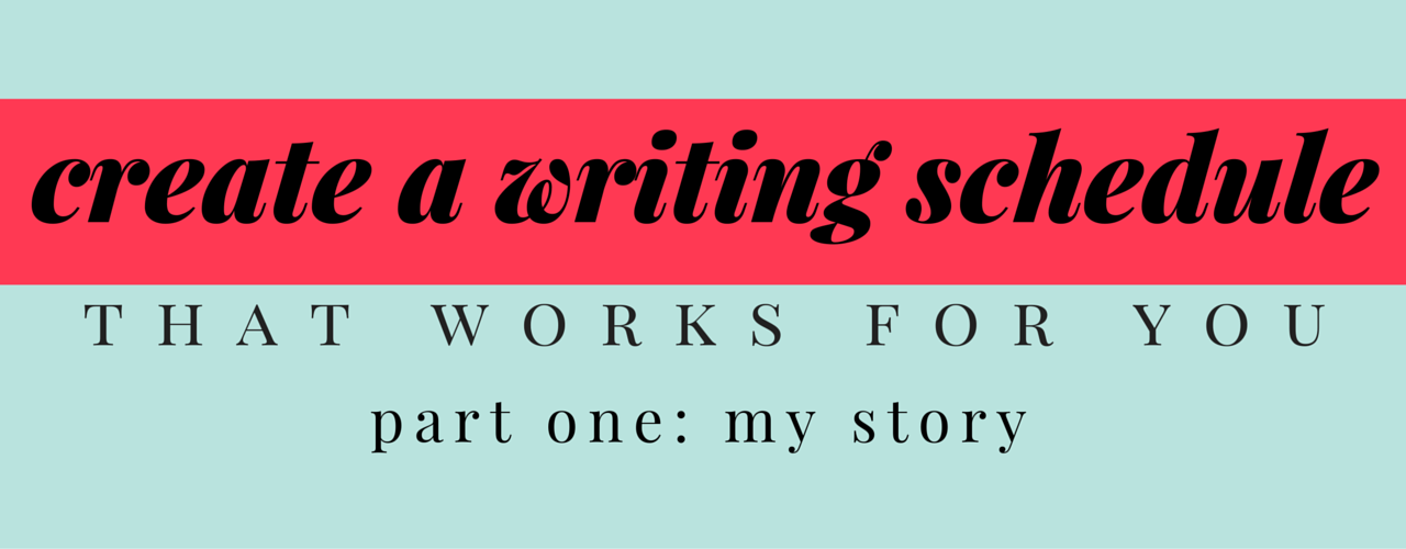my relationship with writing